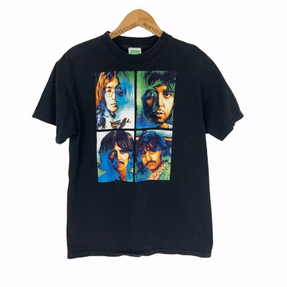 The Beatles 2009 Psychedelic Graphic T Shirt Sz M